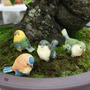 Pássaros Lote Decoração Jardim