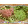 Kit Alcachofra - Alcachofra Violeta E Verde #skn0