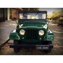 Jeep Willys 1976 Exclusivo E Impecável Placa Preta