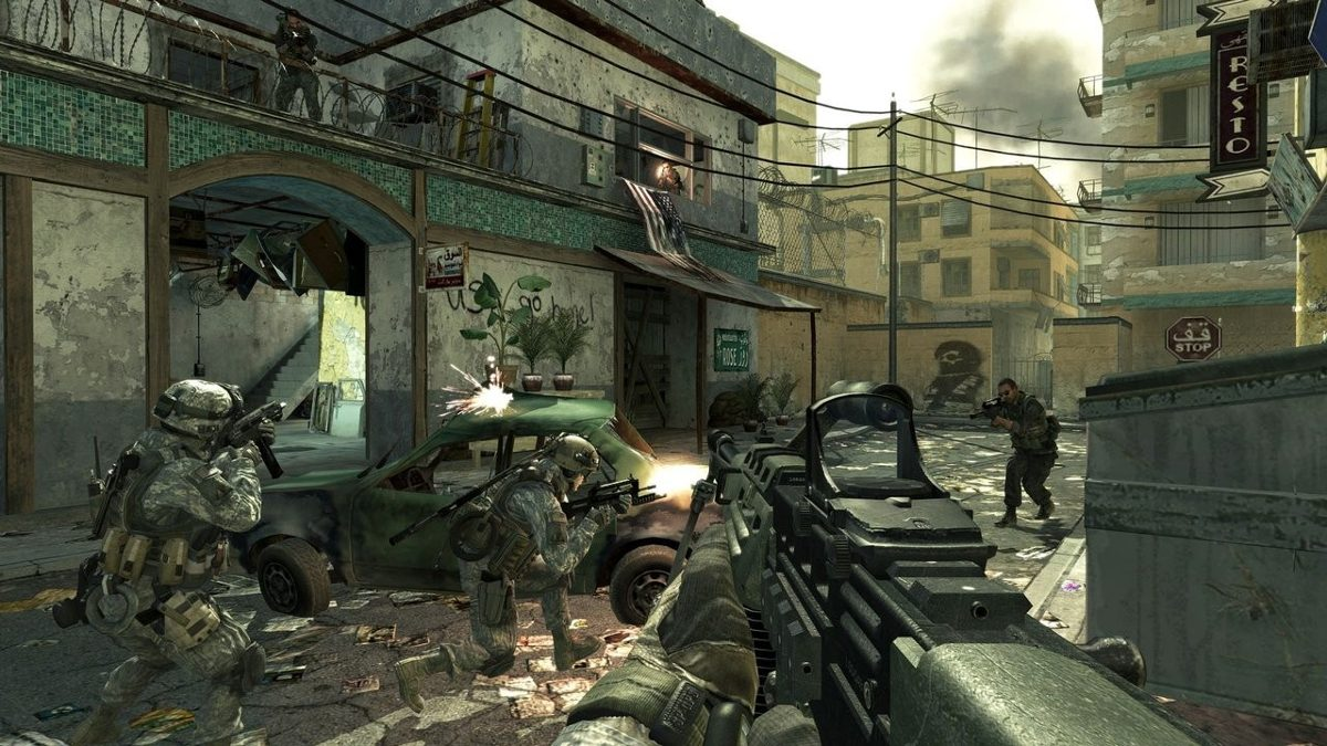 Resultado de imagem para JOGO CALL OF DUTY MODERN WARFARE 2 PS3