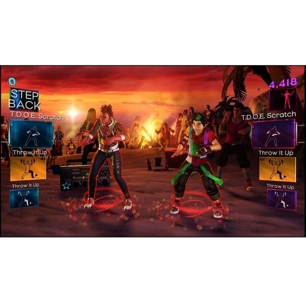 Jogo Dance Central 2 Xbox 360- Totalmente Português - R$ 89,99 no