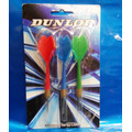 Jogo Com 3 Dardos Dunlop 8gr Semi Profissional.