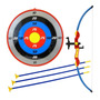 Kit Arco Flecha Super Mira Laser Alvo Kids Arqueiro Bel 4905