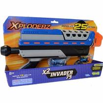Arma Xploderz X2 Invader 75 Carregador Automático - Sunny