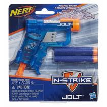 Lançador Nerf N-strike Elite - Jolt Color Azul - Hasbro