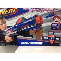 Nerf Rampage Com 25 Dardos + Refil Com 10 Grátis