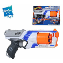 Lançador Dardos Nerf Elite Strongarm A0710-hasbro+brinde