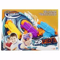 Nerf Lançador De Água Super Soaker Zipfire 3 Un Hasbro A9458