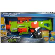 Lançador De Dardos Shooting Gun (não É Nerf )