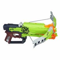 Nerf Zombie Strike Crossfire Bow Lança Dardos Hasbro