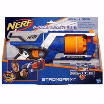 Lançador De Dardos Nerf Elite Strongarm Original Hasbro 2015