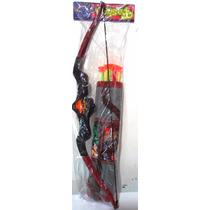 Kit Arco E Flecha Infantil Com Espada, Alvo E Porta Flechas