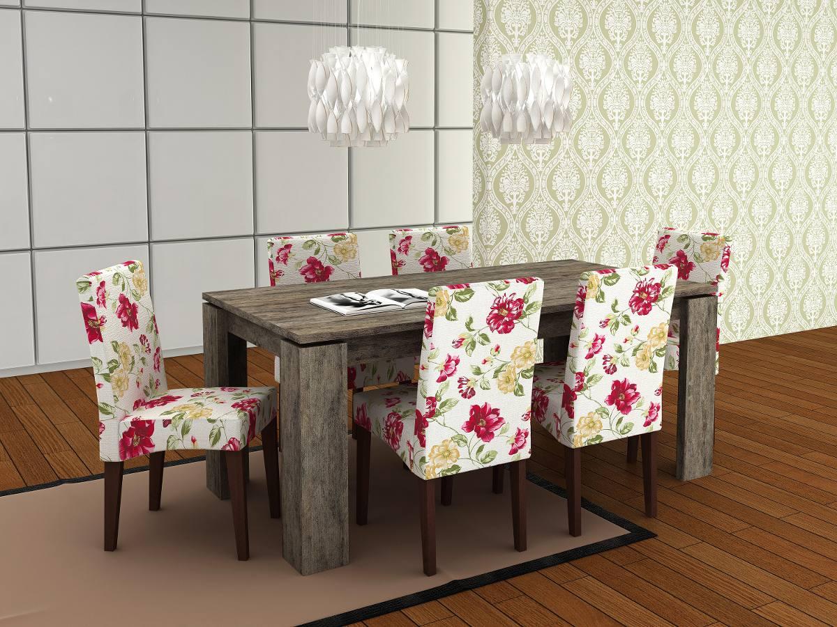 jogo de mesa com 6 cadeira sala de jantar largura de 180cm 21563  #AA2140 1200x900