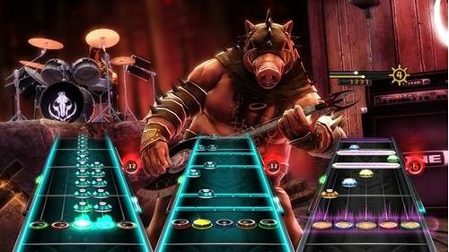 Guitar Hero Warriors of Rock Nintendo Wii