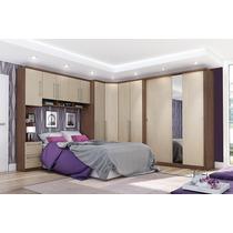 Jogo De Quarto Casal Completo Dormitório Henn Criative
