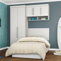 Jogo Quarto Dormitório Modulado Solteiro 3 Peças - Demóbile