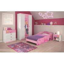 Quarto Infanto-juvenil Barbie Happy-frete Grátis Sp/pr/sc/rs