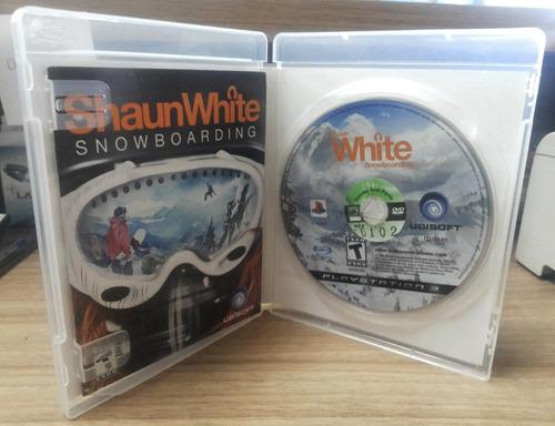 jogo shaun white snowboarding play 3 (original)