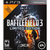 Jogos Para Ps3 - Battlefield 3 Limited Edition - Original