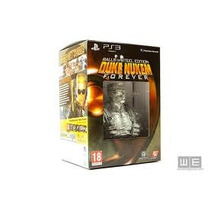 Box Do Jogo Duke Nukem Forever Balls Of Stell Edition Do Ps3