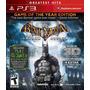 Game Ps3 Batman Arkham Asylum