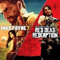 Max Payne 3 + Dlc + Red Dead Redemption - Ps3 - Envio Agora