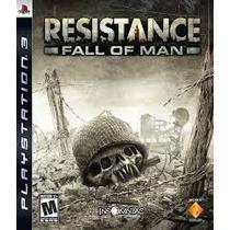 Jogo Ps3 - Resistance:fall Of Man (leg Pt/frete:r$5 Depósito