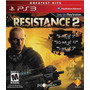 Resistance 2 - Exclusivo Playstation 3 Em Português