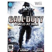 Jogo Call Of Duty World At War Lacrado Para Nintendo Wi