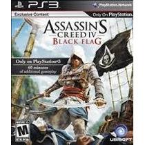 Assassins Creed® Black Flag Ps3 Com Dlc Dublado Português