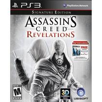 Assassins Creed Revelations Signature Edition + Ac1 Ps3 Novo
