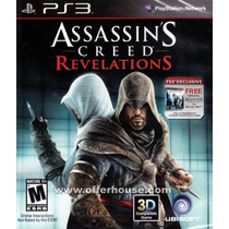 Assassins Creed Revelations + Ac1 Ps3 Lacrado Frete Grátis!