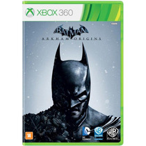 Batman Arkham Origins Br Xbox 360 + Sedex A Partir De R$6,33