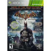 Batman Arkham Asylum Game Of The Year Ed - Original Lacrado