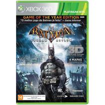 Batman Arkham Asylum Goty Edition Xbox 360 Original Lacrado