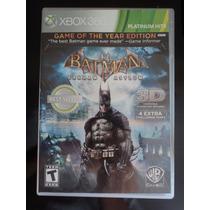 Batman Arkham Asylum - Game Of The Year Edition - Xbox 360