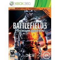Battlefield 3 Premium Edition - Xbox 360 - Lacrado- Leilão