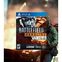 Battlefield Hardline Ps4 Código Psn Lançamento 17/03