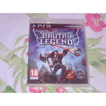 Brutal Legend ( Jogo Original Playstation 3 )