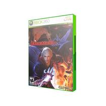 Jogo Xbox360 - Devil May Cry 4 (frete:r$5 Por Depósito)