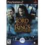 Dvd Ps2 The Lord Of The Rings The Two Towerscompleto