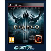 Diablo Iii Reaper Of Souls Ult. Ed. Português Ps3 Código Psn
