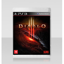 Diablo 3 Playstation 3 - Dublado Português Brasil Ps3 Semi