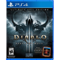 Diablo 3 Reaper Of Souls Ultimate Evil Edition Portugues Ps4