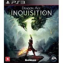 Dragon Age Inquisition Ps3 Legenda Pt-br - Pronta Entrega