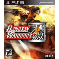 Jogo Novo Lacrado Dynasty Warriors 8 Para Playstation 3