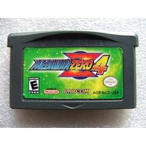 Gba: Megaman Zero 4 Original Americano! Raríssimo! Jogaço!