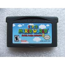 Gba: Super Mario World Original Americano! Cartucho Novinho!