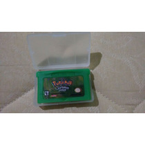 Pokemon Leaf Green Gba - Salvando 100%