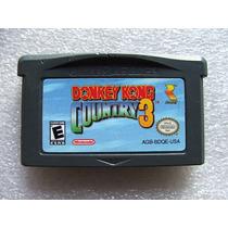 Donkey Kong Country 3 Original Americano! Gravando E Novinho